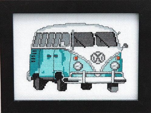 Teal VW Bus