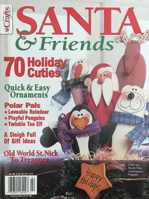 Crafts Magazine Santa & Friends 2000