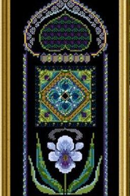 Flower Panels 1 - Iris