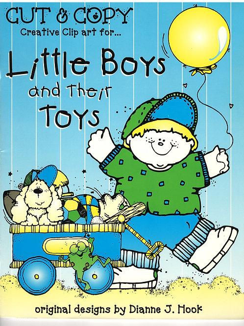 Cut & Copy creative clip art for Little Boys and Their Toys