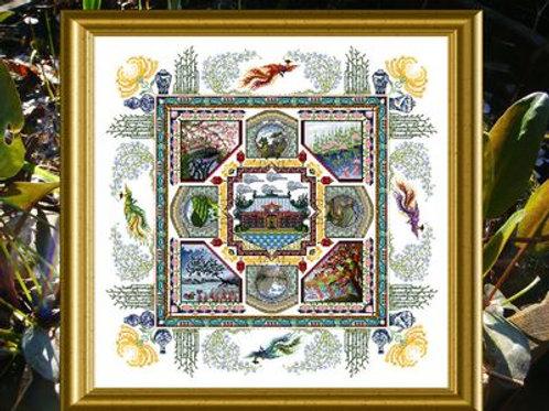 The Chinese Garden Mandala