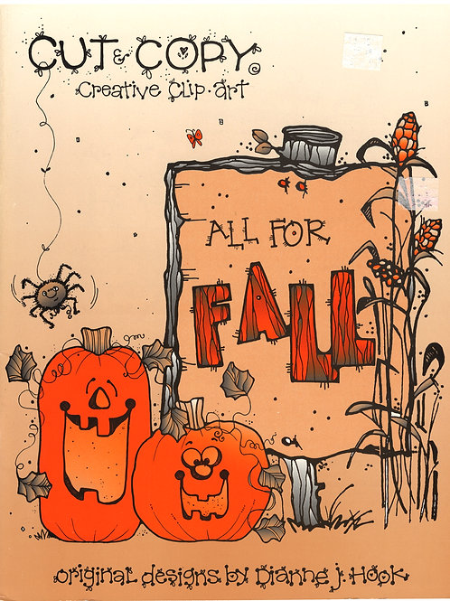 Cut & Copy Creative Clip Art All For Fall