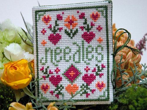 Floral Needle Case