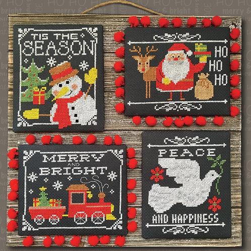 Christmas Chalkboard Greetings