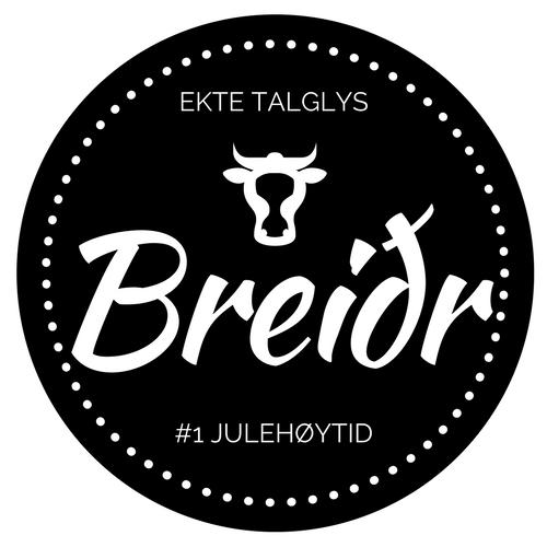 Breidr - ekte talglys fra Valdres