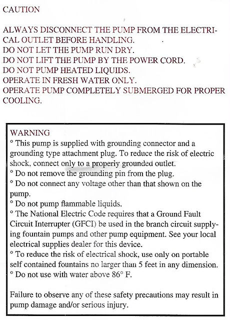 Fountain Mountain's Pump Info Paper 1-b