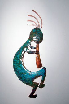 Copper Kokopelli Wall Art, $25.jpg