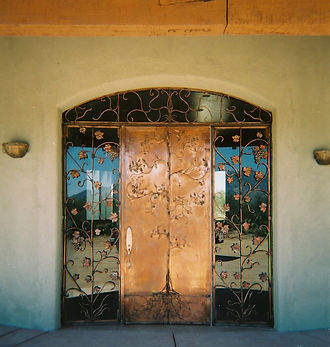 Custom Copper Door and Door Gates.jpg