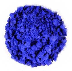 Tetramminkupfer(II)-sulfat-Monohydrat_Kristalle