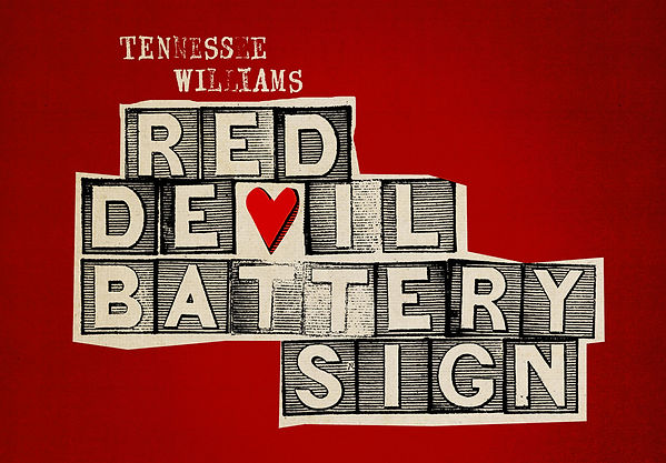 Red Devil Battery Sign Tennessee William