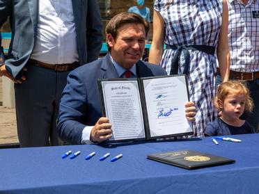 DeSantis signs $100B Florida budget after vetoing $1.5B