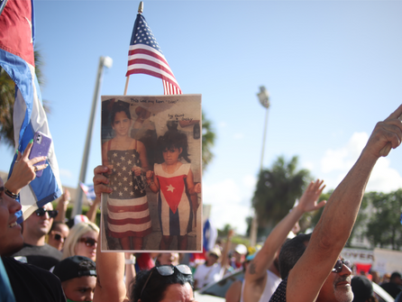 Vigil Held In Hialeah To Remember Lives Lost During Demonstrations In Cuba