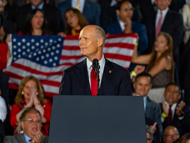 Rick Scott SLAMS reckless spending from the Democrats during a debt crisis