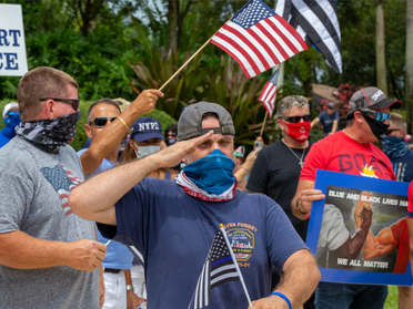 Florida's largest police union endorses Trump in unanimous vote