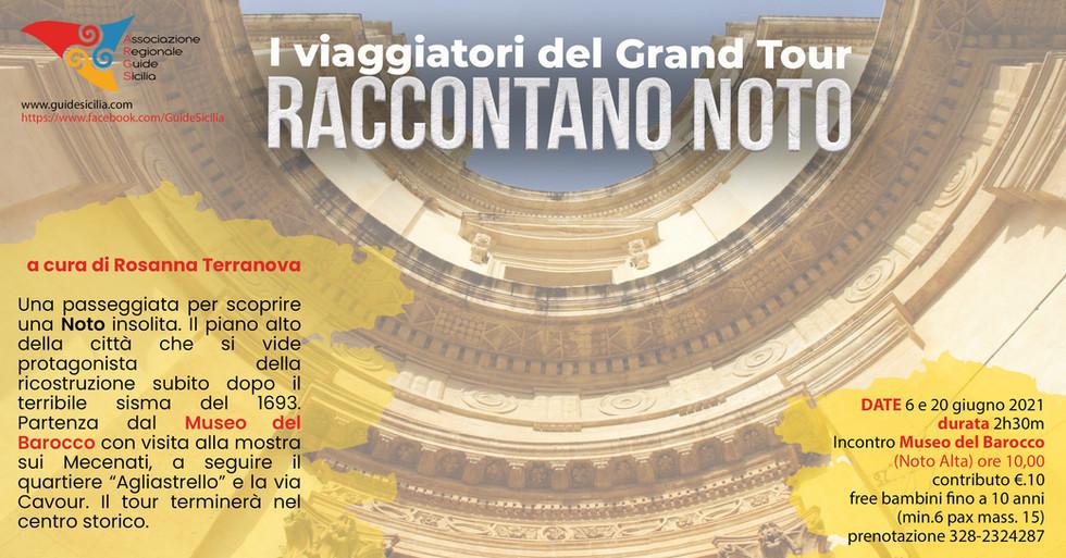 Rosanna Terranova Noto Grand Tour