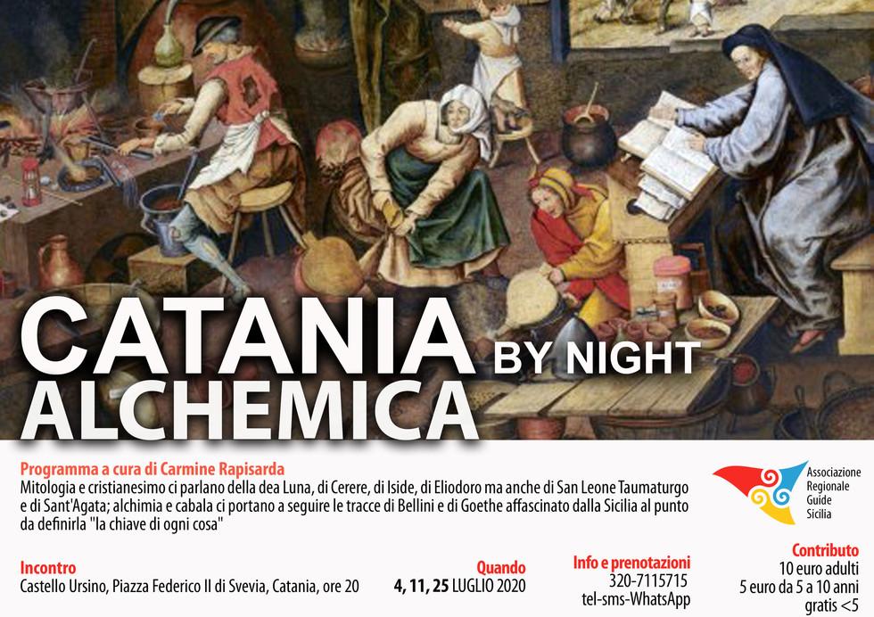 Catania Alchemica by Night