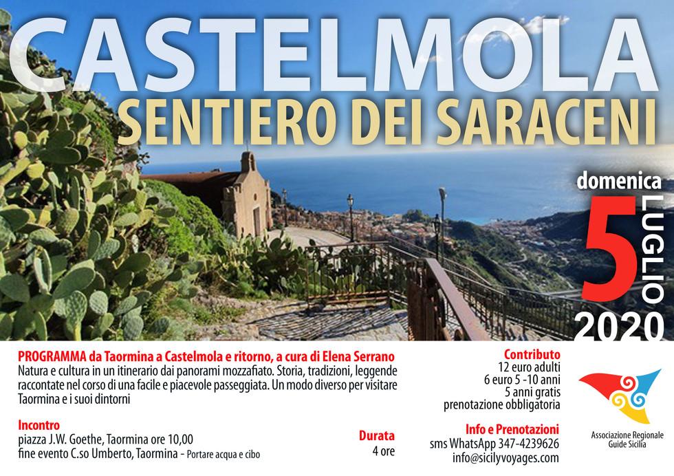 Castelmola - Sentiero dei Saraceni