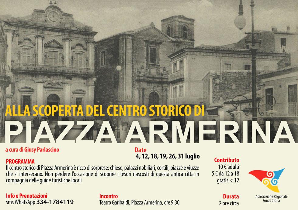 Alla scoperta del centro storico di Piazza Armerina