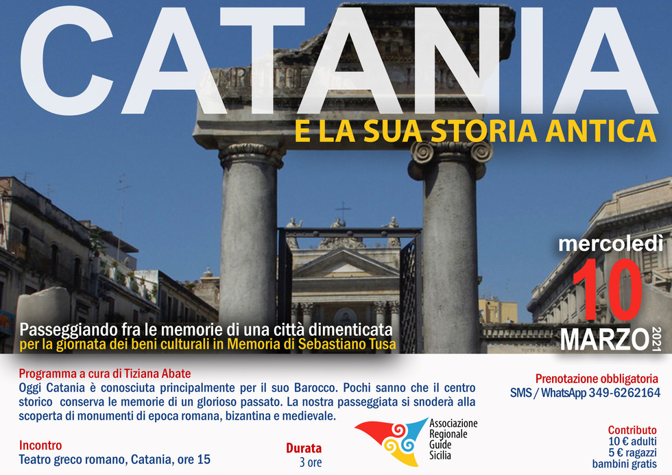 Tiziana Abate Catania Antica 2021