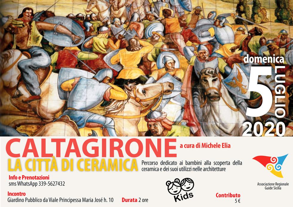 Caltagirone - La Città di Ceramica