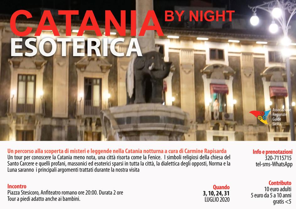 Catania Esoterica by Night