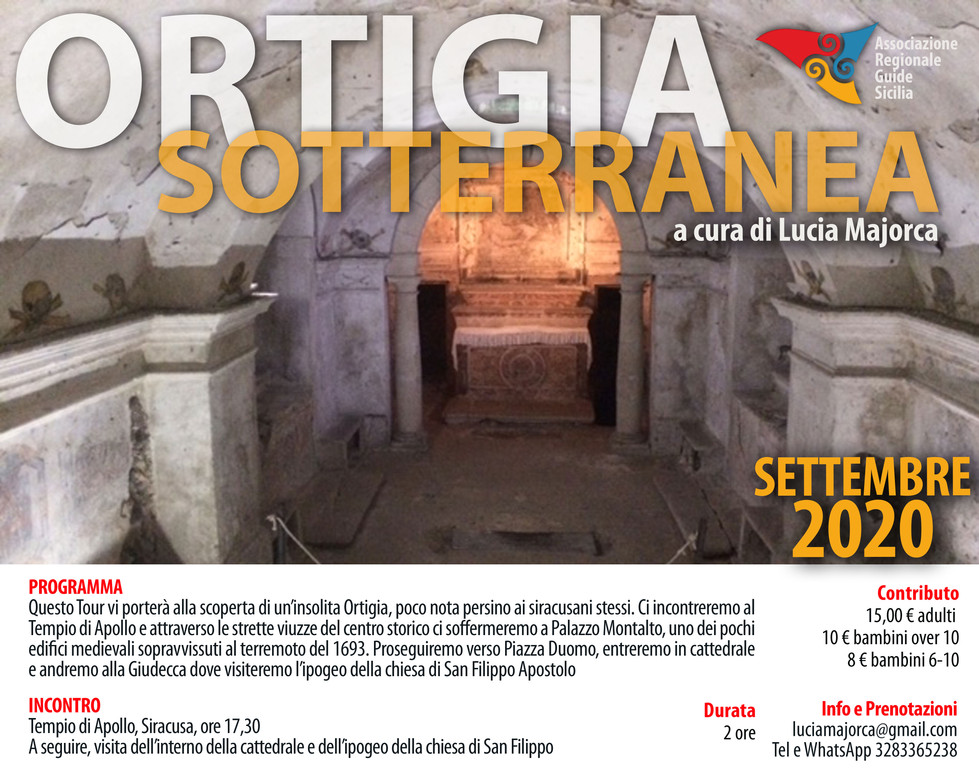 Ortigia sotterranea Lucia Majorca