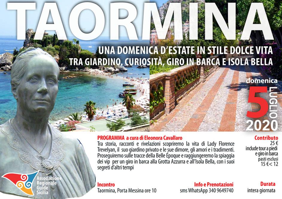 Taormina - Una domenica d'estate in stile dolce vita