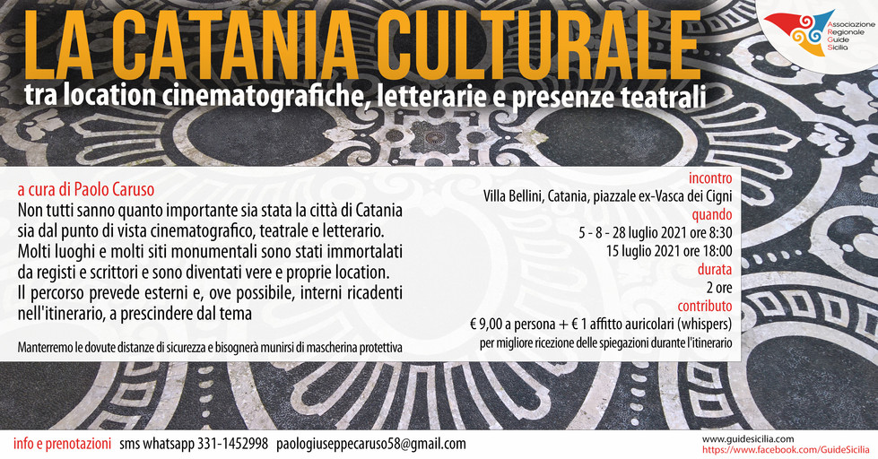 Catania culturale Paolo Caruso