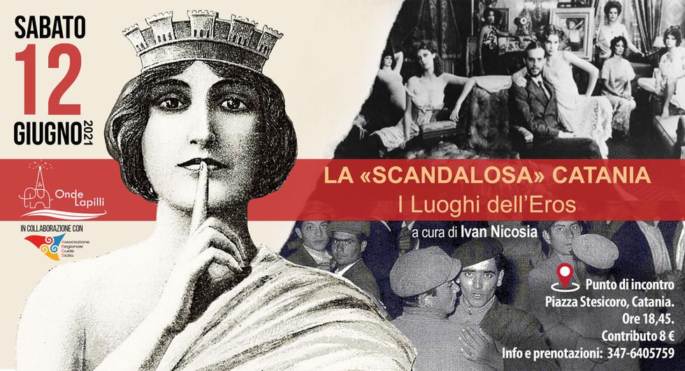 Ivan Nicosia Scandalosa Catania giugno