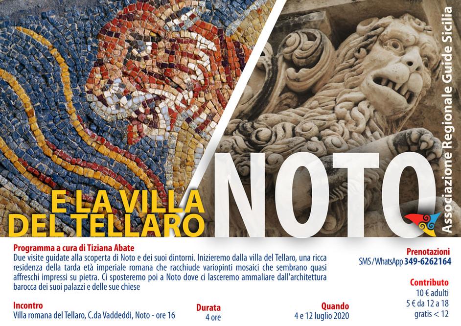 Noto e la Villa del Tellaro