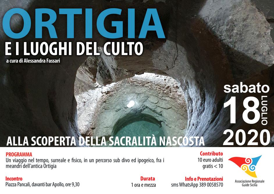 ORTIGIA E I LUOGHI DEL CULTO