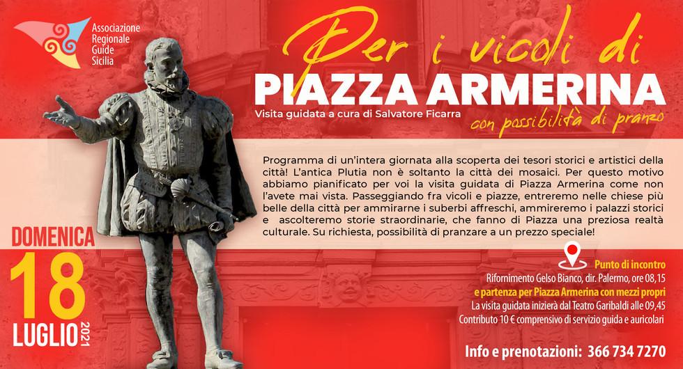 Piazza Armerina con Salvatre Ficarra