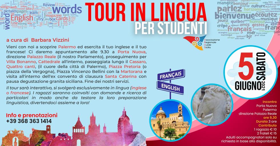 Barbara Vizzini Tour LIngua Palermo