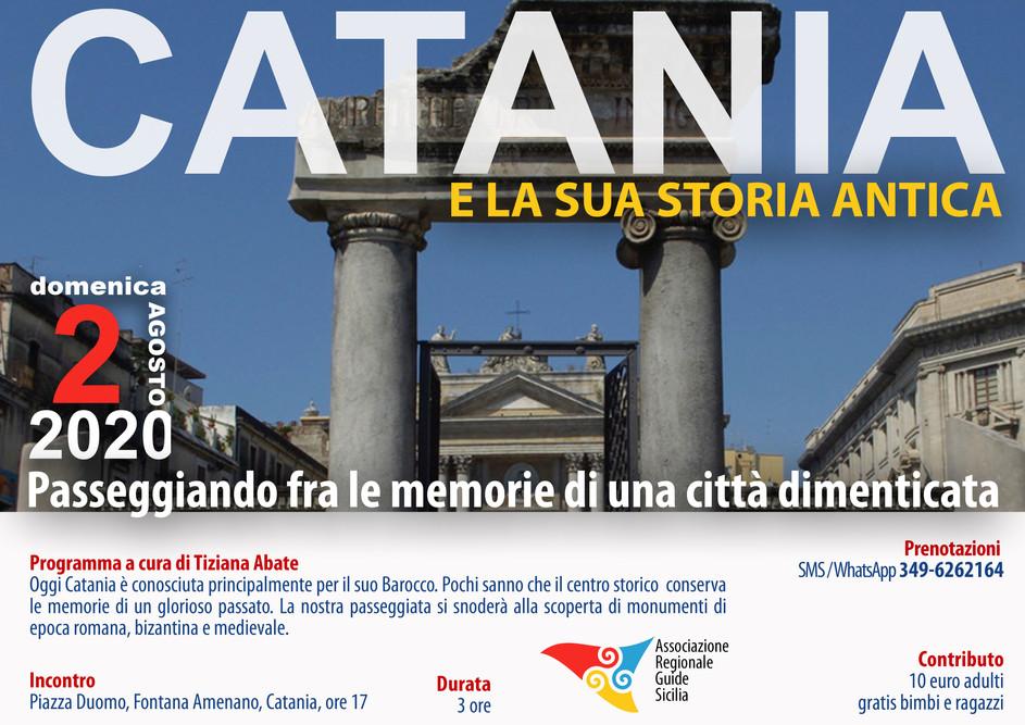 Catania Storia Antica