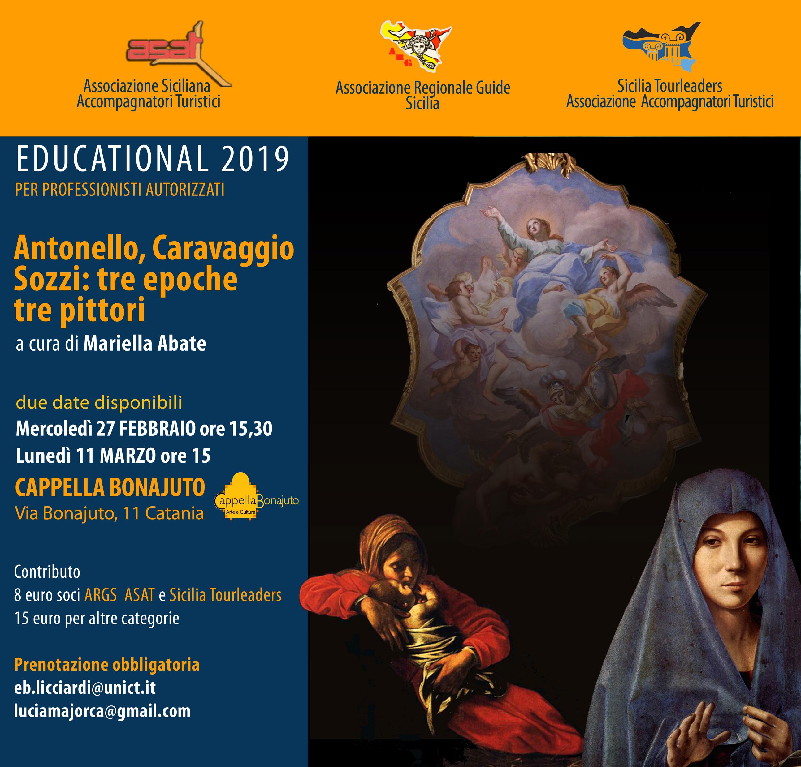 Antonello, Caravaggio, Sozzi