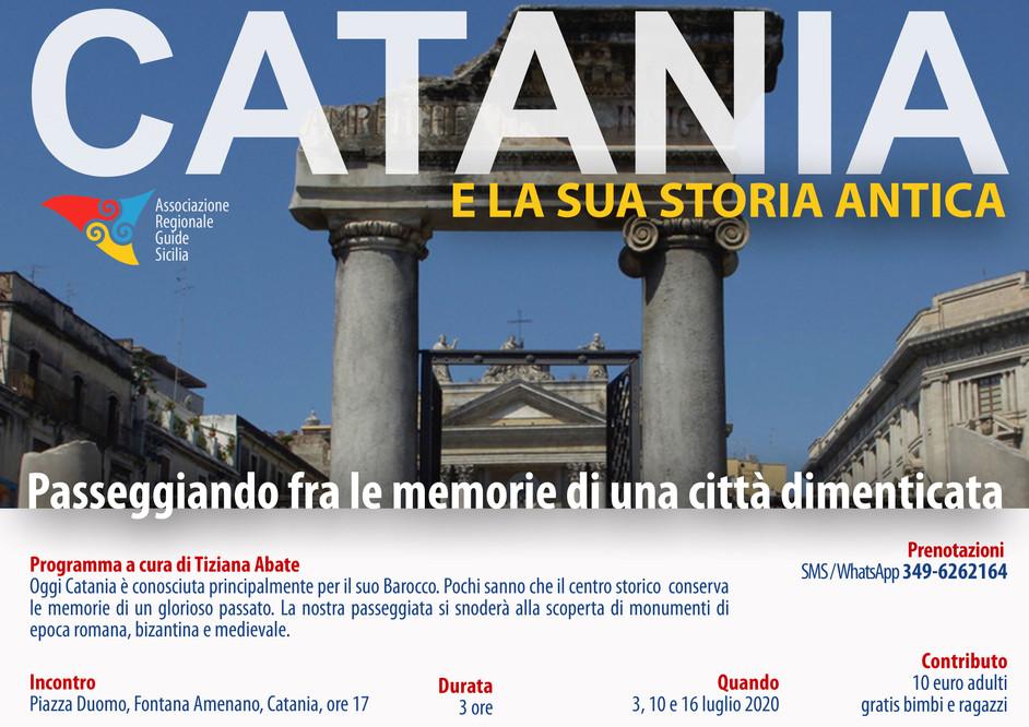 Catania e la sua Storia Antica