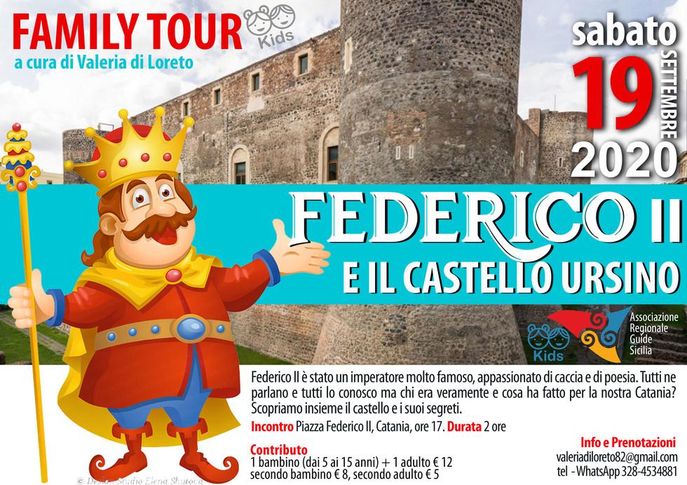 Federico II e il castello Ursino