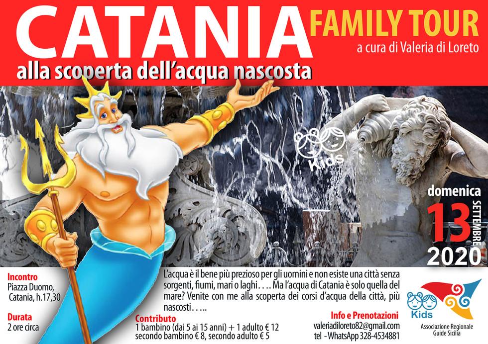 Valeria Di Loreto Family tour acqua catania