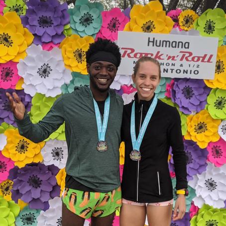 San Antonio Rock n' Roll Half Marathon