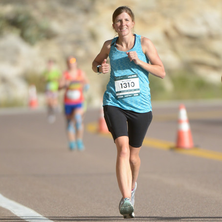Mt. Lemmon Marathon: Running For Boston