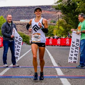 St. George Marathon: 2-Time Winner & Course Record Holder, Sylvia Bedford!