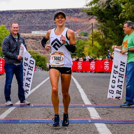 St. George Marathon: 2-Time Winner & Course Record Holder, Sylvia Bedford!