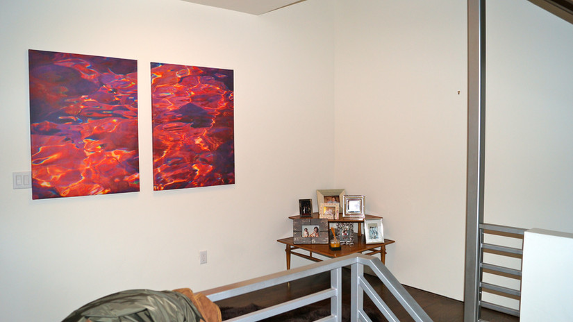 Commission pieces at a private home - Highlands, Denver