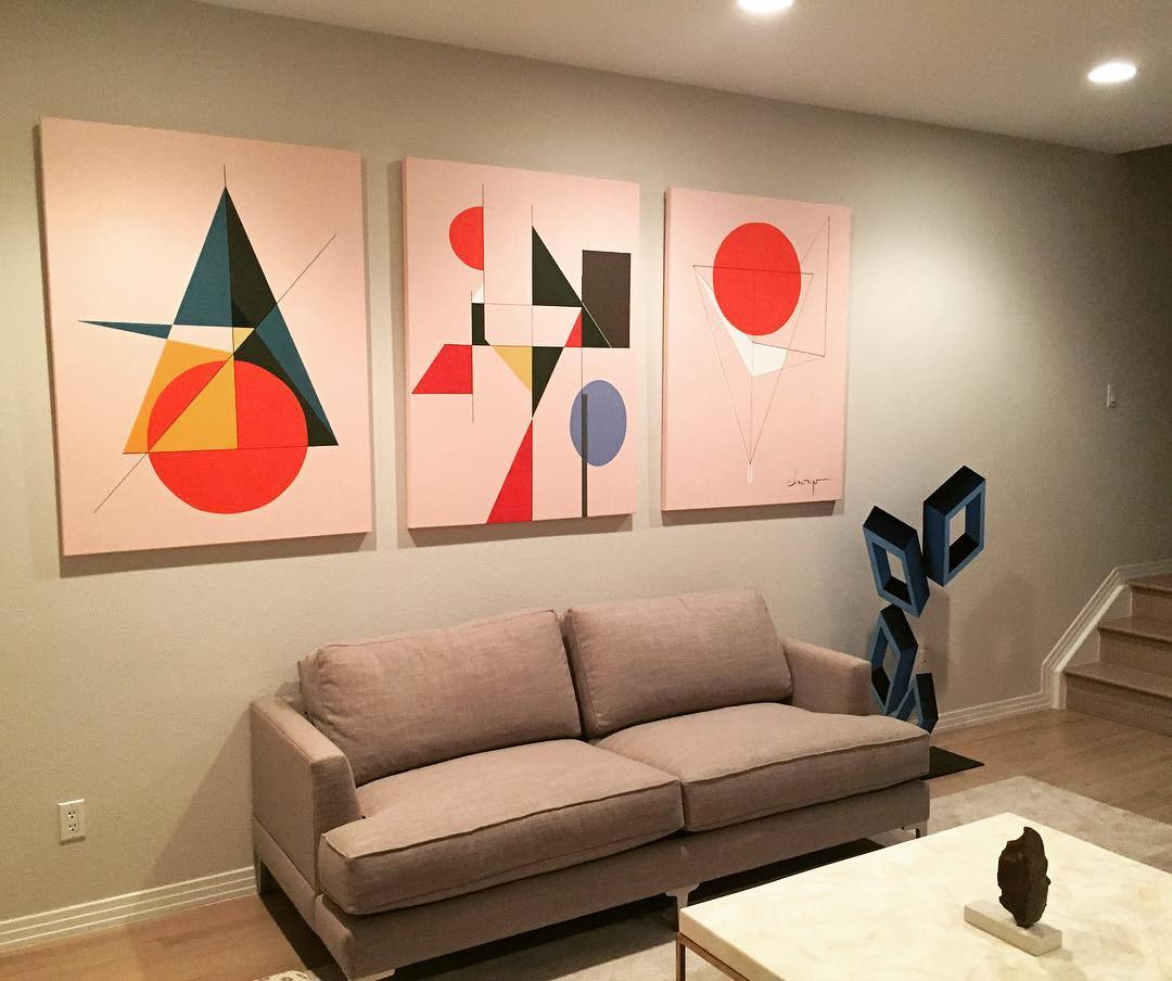 Commission pieces at a private home - Cherry Creek, Denver