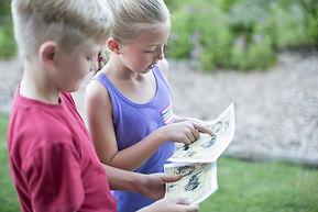 Kinder-Lesekarte