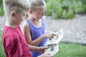 Niños Reading Mapa