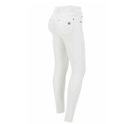FREDDY White Leather Now Pant