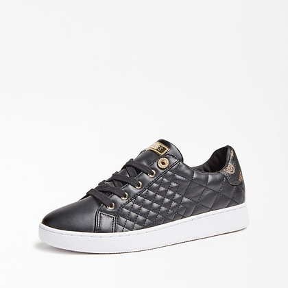 Guess Black Quilted Sneaker
