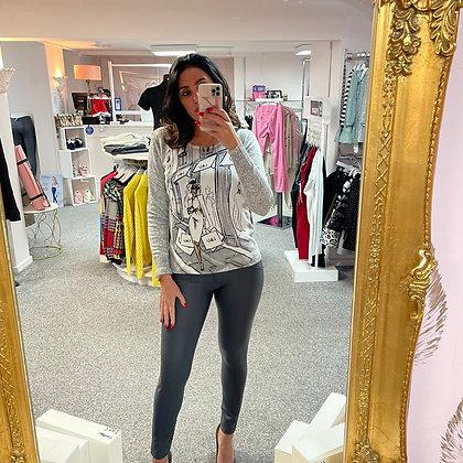LEO Grey Lady Sweater
