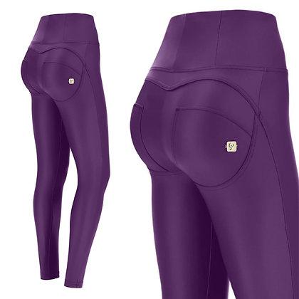 FREDDY Purple Leather High Waist